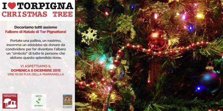 I Love Torpigna Christmas Tree