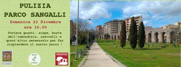 Pulizia del Parco Acquedotto Alessandrino