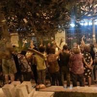 Assemblea Piazza della Marranella - si vota