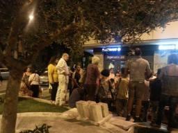 Assemblea Piazza della Marranella - si parla di come impostare la prossima riunione