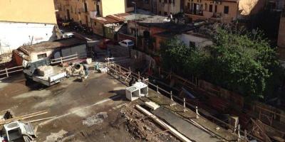 Cantiere di Via Giovannoli